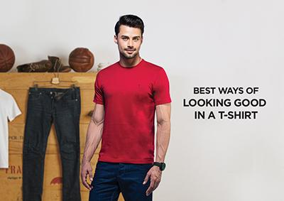 Best Ways of Looking Good in a T-shirt | Vstar