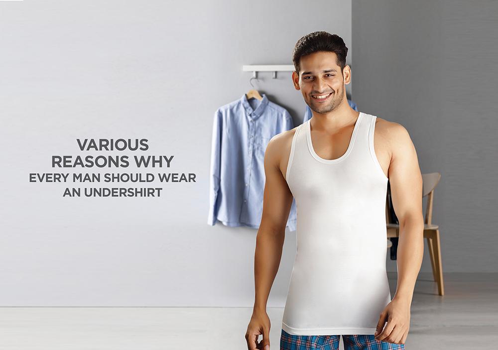 Various reasons why every man should wear an undershirt | Vstar